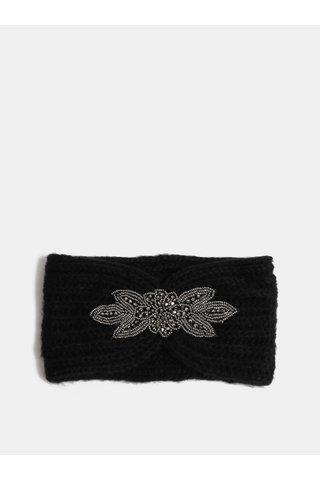Bentita neagra cu ornament ONLY Tia