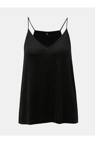 Bluza neagra cu striatii si detalii stralucitori ONLY Carol