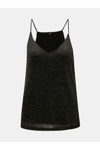Bluza neagra cu fibre metalice ONLY Carol
