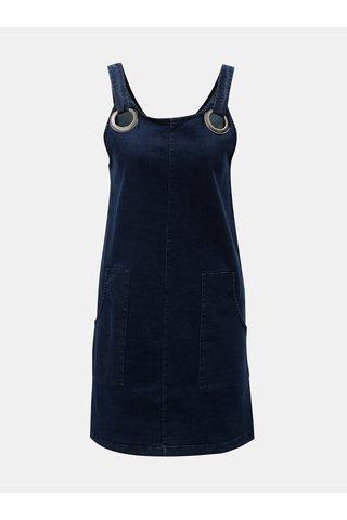 Rochie albastru inchis din denim Tranquillo Lethia