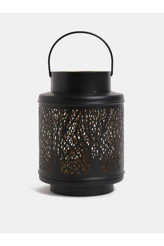 Lanterna neagra din metal de dimensiuni reduse Dakls