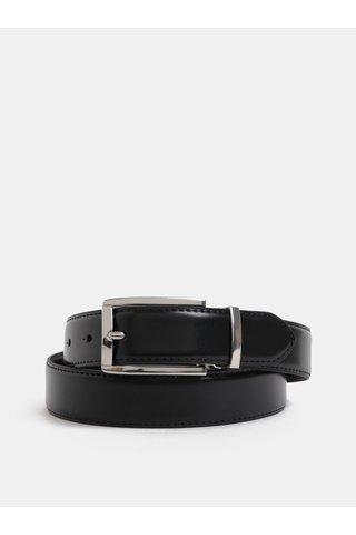 Curea neagra din piele cu catarama interschimbabila in set cadou Jack & Jones Belt Gift Box