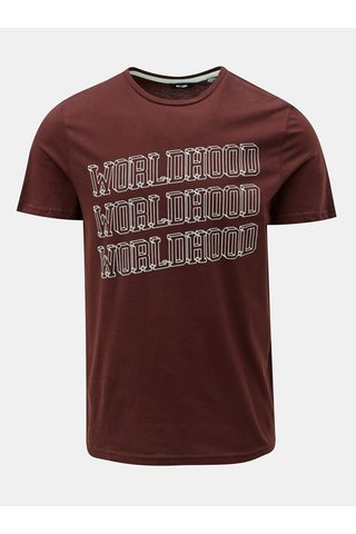 Tricou maro cu imprimeu ONLY & SONS Fore