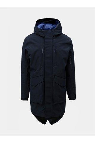 Tmavě modrá bunda 2v1 s odnímatelnou tenkou bundou Selected Homme Hike