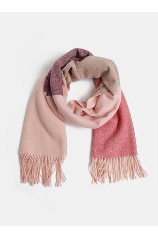 Fular mov-roz cu amestec de lana Pieces Jira
