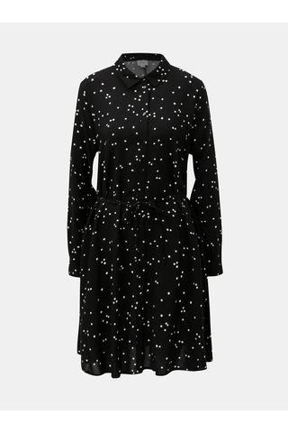 Rochie tunica neagra cu buline Jacqueline de Yong Gitte