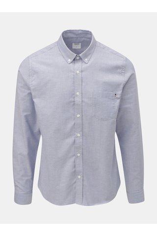 Camasa albastru inchis cu buzunar la piept Burton Menswear London