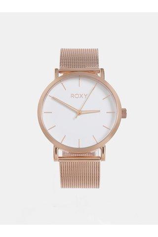 Ceas de dama roz-auriu Roxy Maya