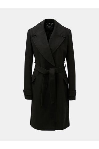Černý kabát Dorothy Perkins Tall