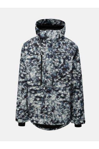 Jacheta barbateasca albastru-gri de iarna functionala cu model Horsefeathers Prowler