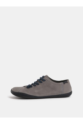 Šedé dámské kožené boty Camper Cami Hell