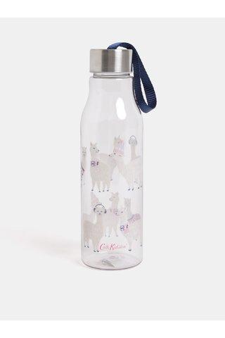 Transparentní láhev na vodu s motivem lamy Cath Kidston