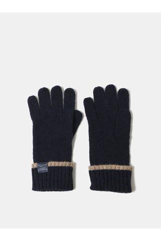 Tmavě modré dámské vlněné rukavice Tom Joule Huddle