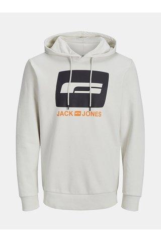 Hanorac crem cu imprimeu Jack & Jones Miller