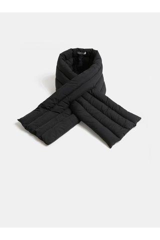 Fular negru matlasat Pieces Kima