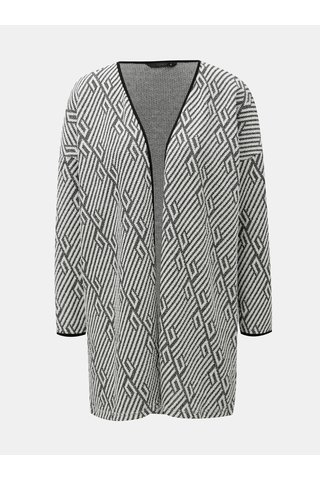 Cardigan negru-alb cu model ONLY Nette