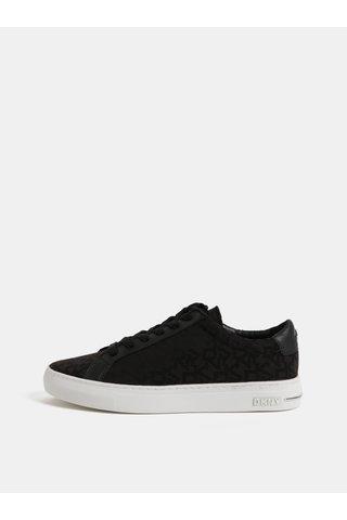 Černé tenisky s logem DKNY