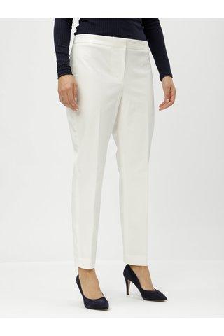 Krémové kalhoty DKNY
