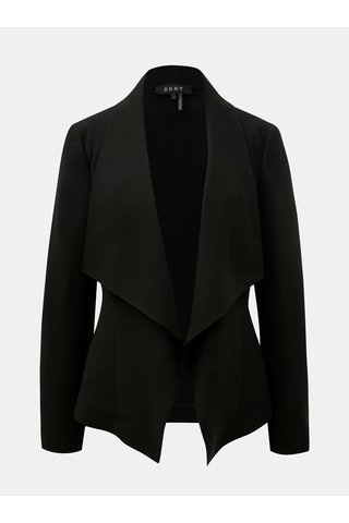 Černé sako s kapsami DKNY