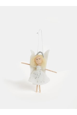 Decoratie de Craciun in forma de inger Sass & Belle Felt Angel