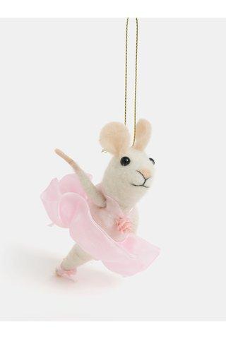 Decoratie de Craiun in forma de soarece balerina Sass & Belle Ballerina Mouse
