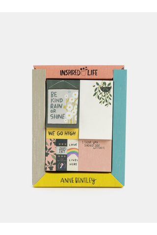 Sada sedmi lepících bločků Galison Anne Bentley