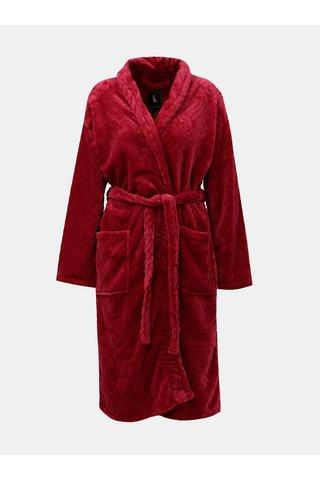 Set cadou de halat de baie roz inchis Something Special