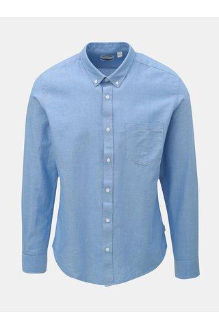 Camasa albastru deschis slim cu buzunar la piept ONLY & SONS Alvaro