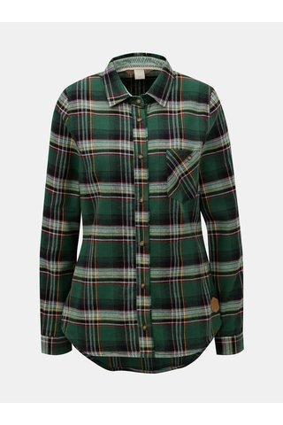 Zelená károvaná košile Femi Stories