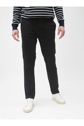 Pantaloni chino negri slim Burton Menswear London