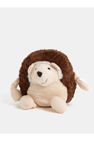 Krémovo-hnědý nahřívací plyšový ježek s vůní levandule Something Special Cozy