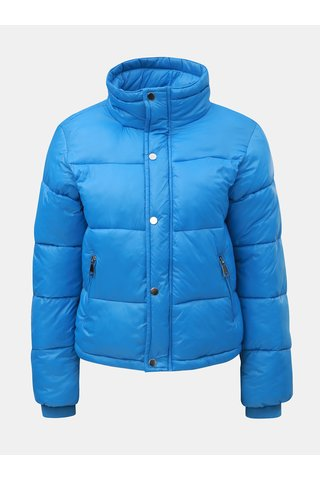 Jacheta albastra matlasata scurta puffa de iarna TALLY WEiJL