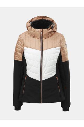 Jacheta bej-negru impermeabila de schi de dama killtec Jannali