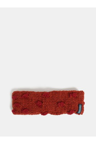 Bentita caramizie din lana cu buline Tranquillo Ask