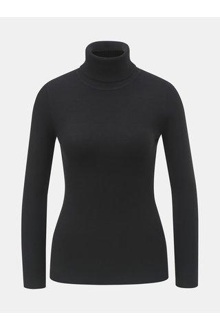 Pulover negru cu guler inalt ZOOT