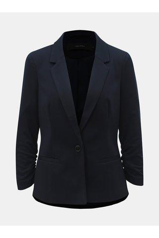 Tmavě modré kostýmové sako s 3/4 rukávem VERO MODA Jana