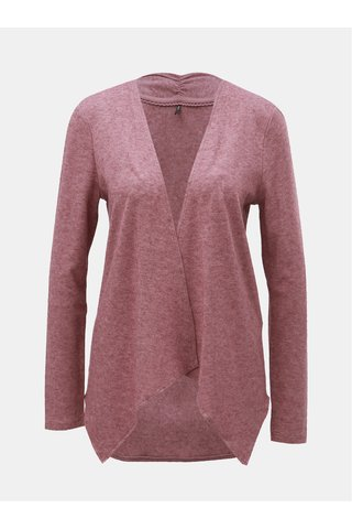 Cardigan roz prafuit melanj lejer ONLY Ashley