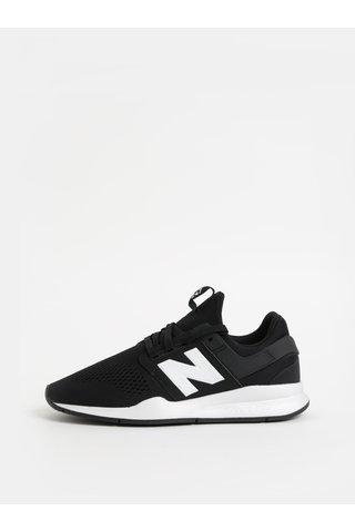 Pantofi sport barbatesti alb-negru New Balance