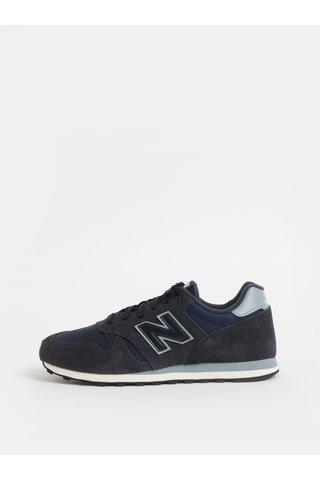 Pantofi sport barbatesti albastru inchis din piele intoarsa New Balance