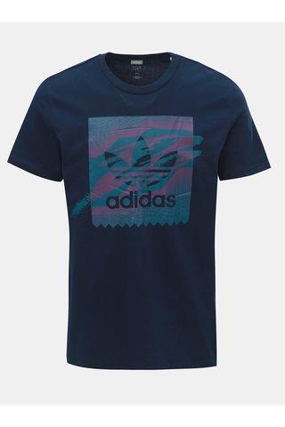 Tricou barbatesc albastru inchis adidas Originals Tennis BB