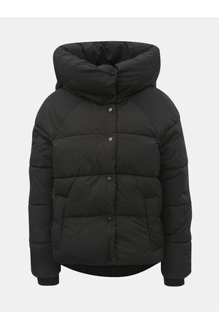 Jacheta neagra matlasata de iarna ONLY Mari
