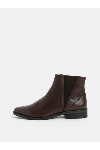 Hnědé dámské kožené chelsea boty Royal RepubliQ
