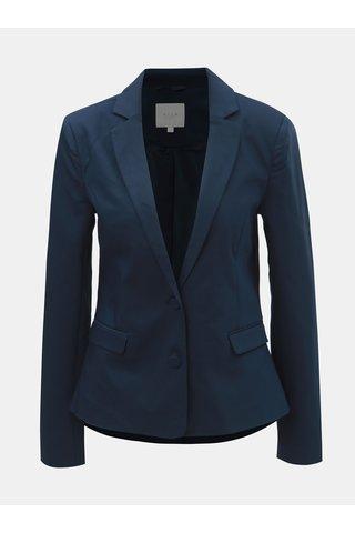 Tmavě modré kostýmové sako VILA Delia