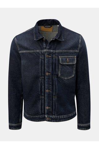 Jacheta albastru inchis din denim Jack & Jones