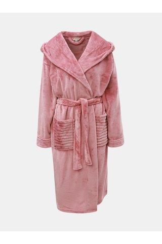 Halat de baie roz cu gluga Dorothy Perkins