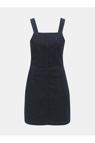 Rochie albastru inchis din denim cu buzunare Dorothy Perkins