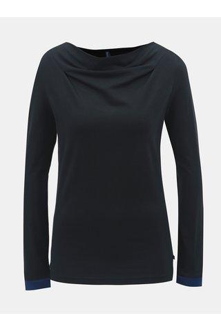 Tricou negru cu maneci lungi Tranquillo Anahita