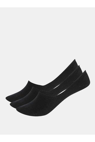 Set de 2 sosete negre sneaker de dama Bellinda Invisible