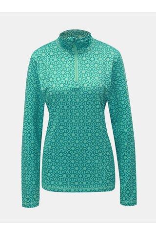 Tricou verde functional de dama cu model LOAP Midi