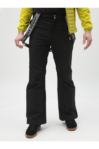 Pantaloni de schi negri barbatesti softshell LOAP Leam